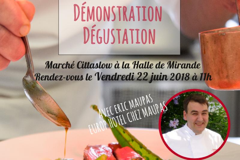 Atelier Culinaire au Marché CittaSLOW de Mirande