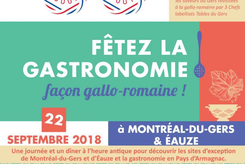 Fêtez la Gastronomie, Façon Gallo-Romaine à EAUZE