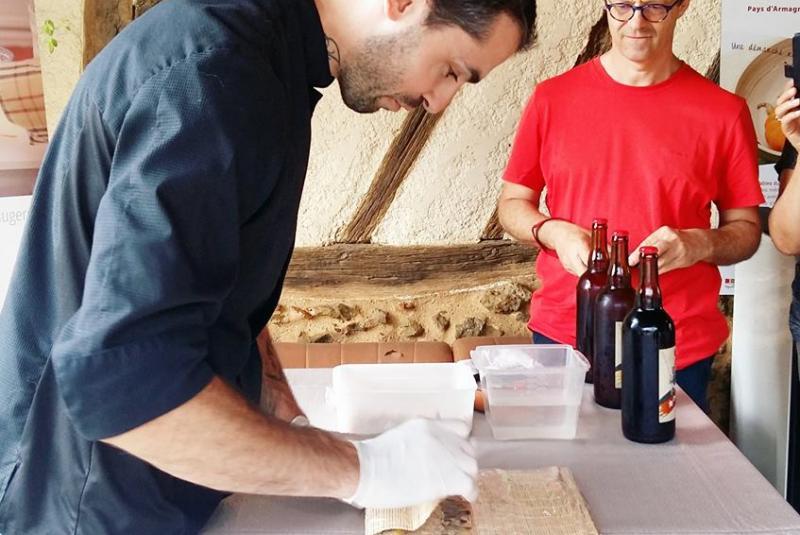 Atelier Culinaire avec  Fabien ARMENGAUD à DEMU