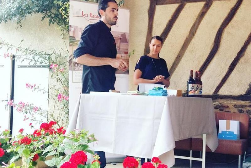 Atelier culinaire avec Fabien Armengaud à Dému