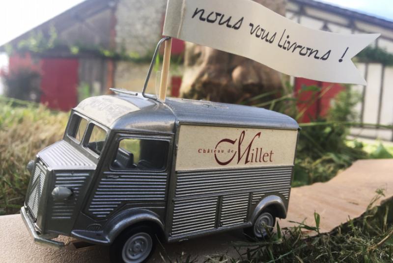 Drive et livraison au Château de Millet