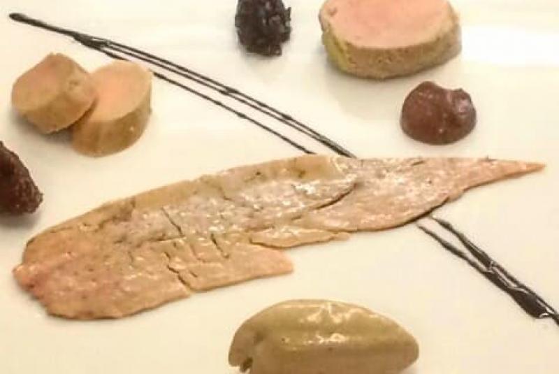Foie gras en plusieurs façons