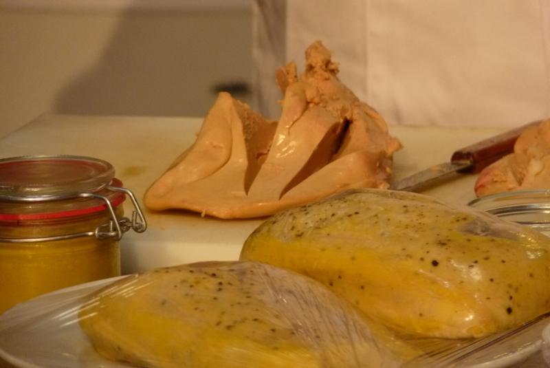 Déclinaisaon de Foie gras du Gers